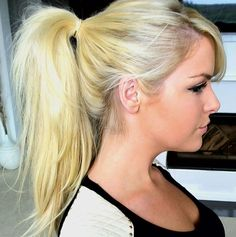 Gunna have to try this with my extensions How To: High Ponytail Using Clip In Hair Extensions