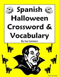 Spanish family crossword and picture ids la familia crossword