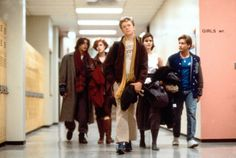 Judd Nelson (as John Bender), Anthony Michael Hall (as Brian Johnson), Molly Ringwald (as Claire Standish), Emilio Estevez (as Andrew Clark) and Ally Sheedy (as Allison Reynolds) in The Breakfast Club (1985) #breakfastclub #80smovies #JohnHughes #MollyRingwald #JuddNelson #AnthonyMichaelHall #AllySheedy #EmilioEstevez #85movies #1985
