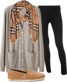 Love TOMS! Although none of my pairs are beige I could make this outfit in a mint/ blue/ white/ chambray scheme