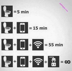 Funny Pictures: Toilet vs Wifi