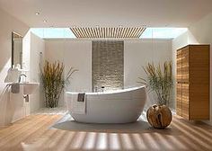 Spa Inspired Bathrooms | ... to make the most of the current trend for nature-inspired bathrooms