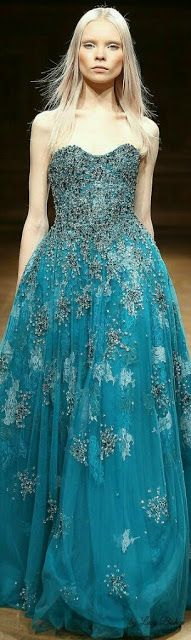 Tony Ward Fall Winter 2014-15, this would be fun for the winter military ball!