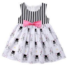 Cool Rabbit Toddler Girl Summer Dress