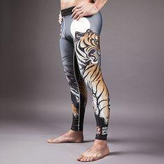 Midnight Tiger Grappling Tights