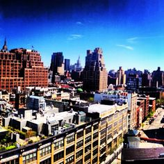 It's another beautiful day in the neighborhood. #meatpacking #viewfromthetop