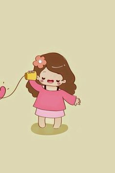 Couple Playing - Tap to see more in love couple wallpapers! Love Couple Wallpaper, Best Friend Wallpaper, Matching Wallpaper, Love Cartoon Couple, Chibi Couple, Cute Love Cartoons, Diy Wallpaper, Kawaii Wallpaper, Couple Wallpaper Relationships