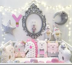 """361 Me gusta, 14 comentarios -  Бортики  и не только (@lovebabytoys) en Instagram: """"Маленька принцесса - коллекция бортиков для девочек Заказ можно оформить на нашем сайте…"""""""