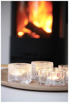sweet tea lights by Iittala