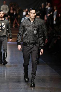Dolce&Gabbana Men's Fall/Winter 2015/2016 Show   Homotography