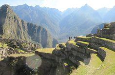 Machu Picchu, lac Titicaca et désert de sel — Carte postale du Pérou et de…