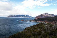 Stunning views on the east coast of Tasmania