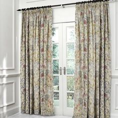 voyage hedgerow fabric curtains | voyage maison hedgerow pencil pleated curtains free delivery voyage ...