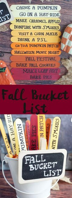 Halloween crafts, fall family traditions? Use this bucket list to keep the party going! It is a recipe for some awesome memories.
