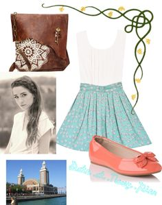 """Date at Navy Pier"" by maddie-laporta ❤ liked on Polyvore"