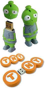 Custom Silicone USB Drives...