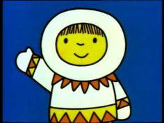 *Dick Bruna ~ filmpje groep 1 over de eskimo Polo Norte, Winter Project, Miffy, Kindergarten Fun, Little Pumpkin, North Pole, Antarctica, Winter Theme, Kids Education