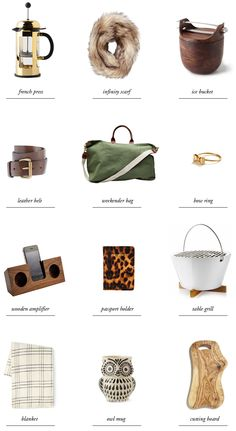 Sherman Samuel - Cabin Life Gift Guide, like the sage green canvas overnighter, the wood ice bucket, white metal table grill