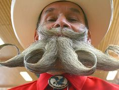 one of 15 Most Bizarre Beards and Mustaches - Oddee.com
