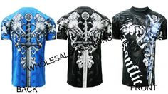 MMA Large Crusader cross design t-shirt Made USA  Men style T-728 The Cross #Konflic #GraphicTee