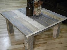 Free Shipping, Coffee Table, Reclaimed Wood, Large Coffee Table, Rustic Coffee Table, Pallet Furniture, Home Decor, Wood Coffee Table, Boho on Etsy, $345.00