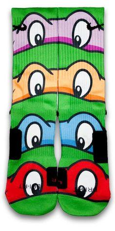 TMNT Custom Elite Socks