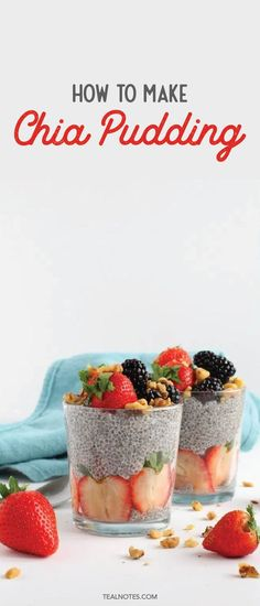 chia seed pudding Chia pudding is where its at if youre looking for an easy and healthy breakfast idea. All you really need to do is mix your Coconut Chia Seed Pudding, Chocolate Chia Seed Pudding, Chia Pudding, Cheap Meals To Make, Cheap Dinners, Food To Make, Healthy Work Snacks, Healthy Breakfast Recipes, Healthy Food