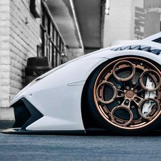 #lamborghini #rotiform #stance #wheelcult #fitment Rims For Cars, Rims And Tires, Wheels And Tires, Car Wheels, Custom Wheels, Custom Cars, Weird Cars, Cool Cars, Volkswagen