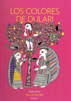 Los colores de Dulari recoge la tierna historia de Dulari Devi, una humilde mujer india que decidió un día cambiar una vida de duro trabajo por la inmersión en la magia de la pintura. Este libro supone la culminación de un camino en el que la pintora se ha permitido recrear escenas de la vida habitual de su cultura en el estilo tradicional Mithila, a través del cual consigue llenar de color la oscuridad. El texto recoge la narración oral de esta fascinante mujer, escrita por Gita Wolf.