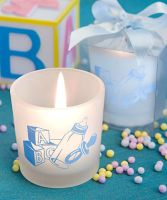 Baby Boy Themed Candle Favors. £1.42. To order please visit www.aromaroma.co.uk