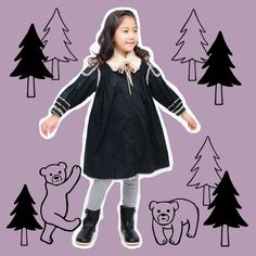 GO FOREST! GO FASHION!  2014-15 Autumn / Winter Kids Coordinate  http://www.cocomag.net/special/2014-2015-aw/
