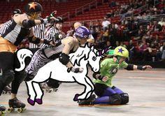 Unicorns and Derby via Twitter