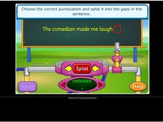 technology rocks. seriously.: Punctuation