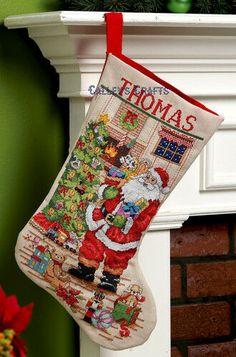 "Bucilla Bears /""SNOW DAYS/"" Felt Christmas Stocking Kit-OOP Penguin Factory Direct"