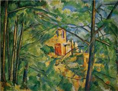 Chateau Noir   - Paul Cezanne