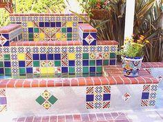 Talavera garden Mexican Home Decor, Pottery, Flooring, Quilts, Blanket, Holiday Decor, Outdoors, Garden, Ceramica