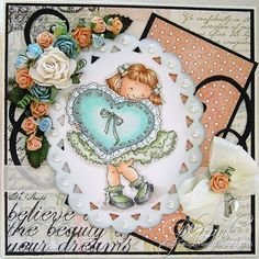 DP2 Challenge: Challenge Winners Mo Manning, Snow Globes, Decorative Plates, Hearts, Challenges, Traditional, Love, Color, Amor