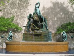 Fountain of the Great Lakes by Lorado Taft - Illinois - United States