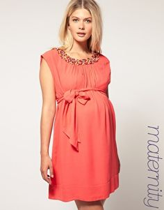 My NEW French Connection Maternity dress for a special occassion while pregnant-LOVE LOVE LOVE.