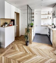 138 Awesome Scandinavian Kitchen Interior Design Ideas - Home Decorations Apartment Decoration, Small Apartment Decorating, Apartment Ideas, Apartment Makeover, Apartment Layout, Small Apartments, Small Spaces, Studio Apartments, Awesome Apartments