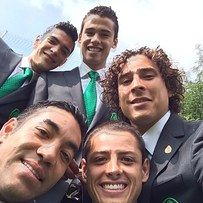 Mexico's Team Has Already Won The World Cup Of Selfies