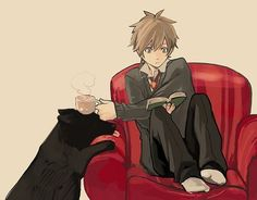 tea with pet anime - Google Search