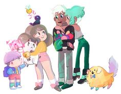 Bee and Puppycat- :D kickstarted is over but paypal is still open!