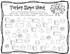 first grade 3d shapes