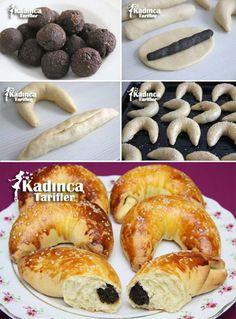 Pastane Usulü Ay Çöreği Tarifi