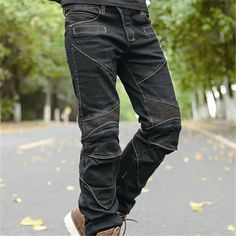 Motorcycle Jeans Racing Pants Riding Protective Pants For Scoyco P043