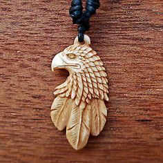eagle carved necklace - Google Search