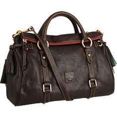 Dooney & Bourke Florentine Vachetta Satchel $398 | Splurge-worthy bag, also available in blue for this year's color trend.