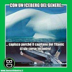 Svelato uno dei più grandi enigmi della storia! #bastardidentro #iceberg #titanic www.bastardidentro.it