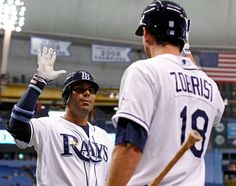 Game  91 vs the Indians  07/17/12  Carlos hits a 2 run homer and has 2 rbi's...Rays win  4-2